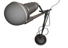 Microfone e suporte Imagens de Stock Royalty Free