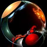 Um planeta no espaço Imagens de Stock