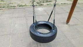 Um pneu de suspensão Fotografia de Stock Royalty Free