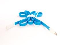 Um poço azul do cabo de USB aperta #2 Imagem de Stock