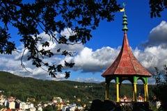 Um ponto de vista em Karlovy varia Imagens de Stock Royalty Free