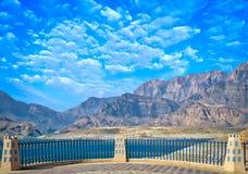 Um ponto de vista para uma paisagem majestosa Foto de Stock Royalty Free