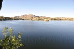 Um ponto idílico por feriados: Recurso de Oanob do lago perto de Rehoboth imagens de stock