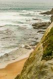 Um ponto surfando favorito na Costa do Pacífico australiana em Apoll foto de stock