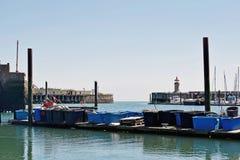 Um porto em Kent fotos de stock royalty free