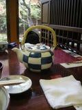 Um potenciômetro japonês do chá Fotos de Stock