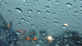 Um pouco chuvoso Imagens de Stock
