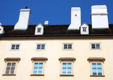 Um prédio de apartamentos em Viena, Áustria Fotos de Stock Royalty Free