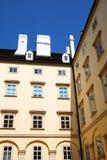 Um prédio de apartamentos em Viena, Áustria Imagem de Stock Royalty Free