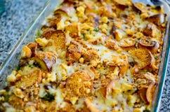 Um prato cozido Fotografia de Stock Royalty Free