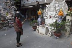 Um Praye budista Fotografia de Stock Royalty Free