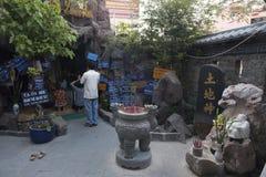 Um Praye budista Fotografia de Stock