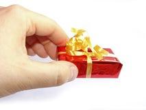 Um presente? foto de stock royalty free