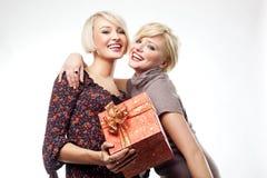 Um presente do Natal Imagem de Stock