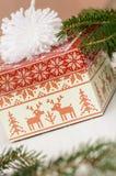 Um presente do Natal Imagens de Stock