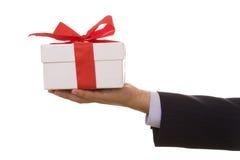 Um presente para você! Imagens de Stock Royalty Free