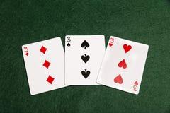 Um Prial de Threes imagem de stock royalty free