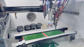 Um processo de produção da placa de circuito do não-contato filme