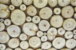 Fundo da madeira do círculo Imagem de Stock Royalty Free