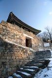 Um protetor Tower do castelo de Gongju Imagens de Stock