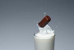 Um pulverizador do leite Imagem de Stock Royalty Free