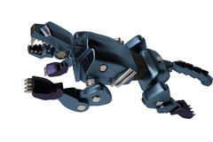 Um puma azul da máquina Imagem de Stock Royalty Free
