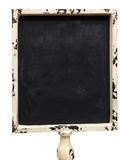 Um quadro-negro velho do retângulo com quadro branco fotografia de stock royalty free
