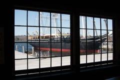 Um quarto com uma vista Imagem de Stock Royalty Free