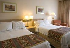 Um quarto de hotel genérico Fotografia de Stock Royalty Free