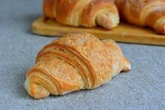 Um queque delicioso para o café da manhã Fotografia de Stock