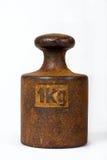 Um quilograma de peso Foto de Stock