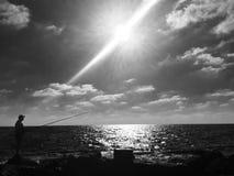 Um raio de luz Fotos de Stock