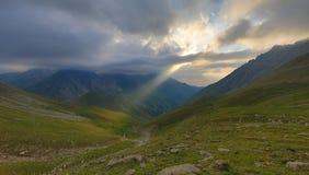Um raio de luz do sol Imagens de Stock