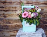 Um ramalhete bonito das flores Foto de Stock