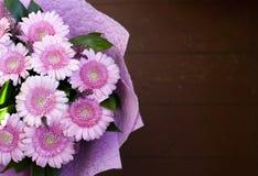 Um ramalhete bonito de herbers cor-de-rosa imagens de stock