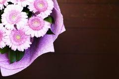 Um ramalhete bonito de herbers cor-de-rosa imagem de stock