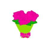 Um ramalhete das rosas Fotografia de Stock Royalty Free