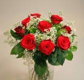 Um ramalhete das rosas Fotos de Stock Royalty Free