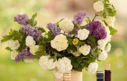 Um ramalhete de flores do jardim Fotos de Stock Royalty Free