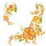 Um ramo com uma flor Ilustração do Vetor