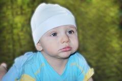 Um rapaz pequeno Fotos de Stock