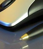 Um rato do computador Fotos de Stock Royalty Free