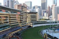 um recolhimento de Hong Kong Crowd e dos povos fotografia de stock