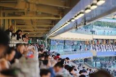 um recolhimento de Hong Kong Crowd e dos povos imagens de stock