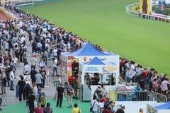 um recolhimento de Hong Kong Crowd e dos povos fotos de stock royalty free