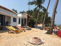 Um recurso na praia de Quy Nhon, Vietname Foto de Stock Royalty Free