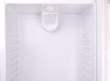 Um refrigerador vazio Foto de Stock Royalty Free