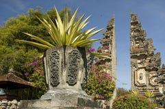 Um Reihe Balis Indonesien stockfoto