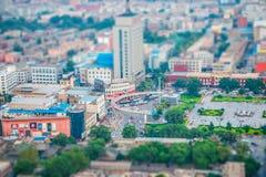 Um relance de Taiyuan Imagens de Stock Royalty Free