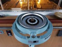 Um repetidor marinho do compasso Nunca obtenha perdido! fotos de stock royalty free
